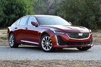 2020 Cadillac CT5 front three quarter, exterior, gallery_worthy