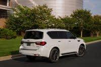 2020 INFINITI QX80, 2020 Infiniti QX80 rear three quarter, exterior, manufacturer, gallery_worthy