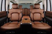 2020 INFINITI QX80, 2020 Infiniti QX80 rear seats, interior, manufacturer, gallery_worthy