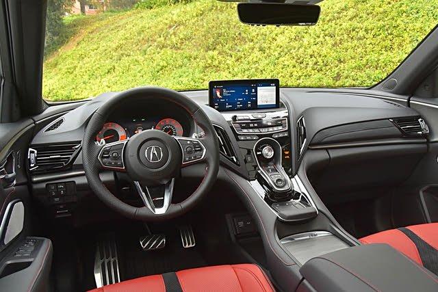 2021 Acura RDX dashboard, interior, gallery_worthy