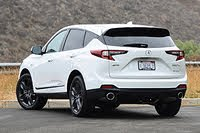 2021 Acura RDX rear three quarter, exterior, gallery_worthy