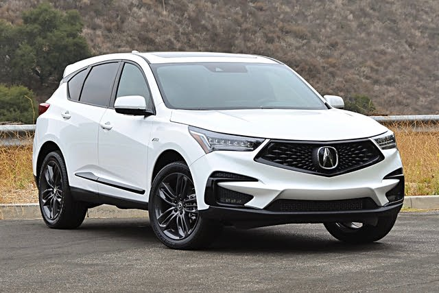 2021 Acura RDX front three quarter, exterior, gallery_worthy
