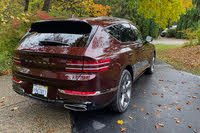 2021 Genesis GV80 rear three quarter, exterior, gallery_worthy