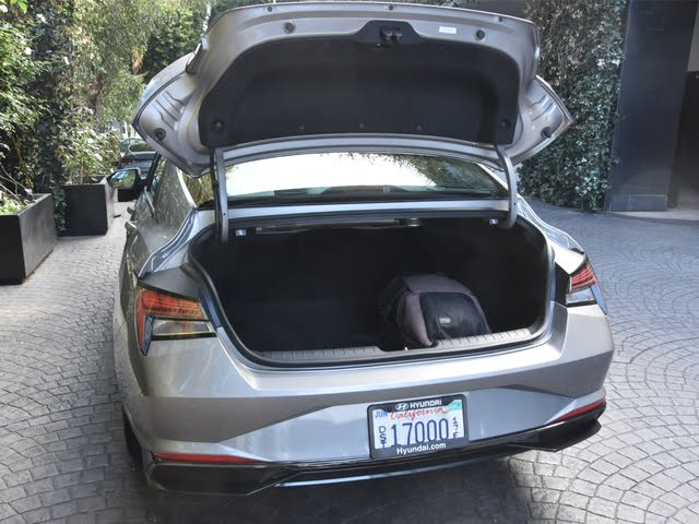 2021 Hyundai Elantra trunk, interior, gallery_worthy