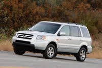 2007 Honda Pilot front three quarter, exterior, manufacturer, gallery_worthy