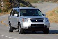 2007 Honda Pilot driving, exterior, manufacturer, gallery_worthy