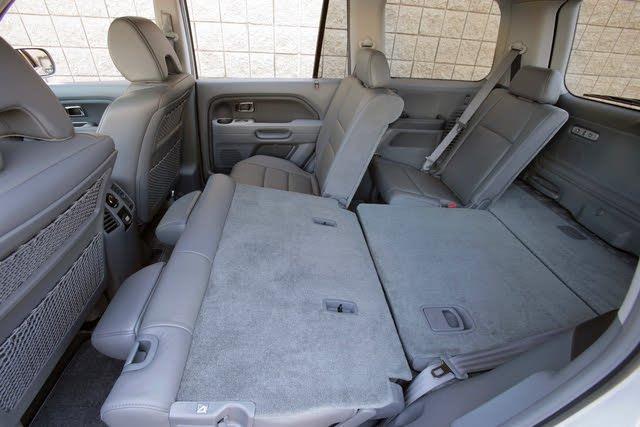 2007 Honda Pilot rear seats folded, interior, manufacturer, gallery_worthy
