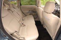 2007 Mitsubishi Outlander rear seats, interior, manufacturer, gallery_worthy