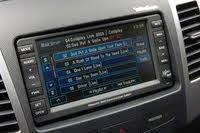 2007 Mitsubishi Outlander infotainment screen, interior, manufacturer, gallery_worthy