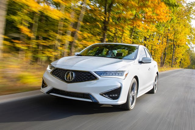 2021 Acura ILX driving