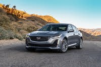 2021 Cadillac CT5 front three quarter, gallery_worthy