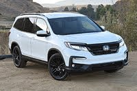 2021 Honda Pilot front three quarter, exterior, gallery_worthy