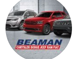 Beaman Dodge Chrysler Jeep Ram logo