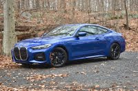 2021 BMW 4 Series, 2021 BMW 430i xDrive coupe front three quarter, exterior, gallery_worthy
