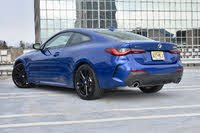 2021 BMW 4 Series, 2021 BMW 430i xDrive coupe rear three quarter, exterior, gallery_worthy