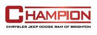 Champion Chrysler Dodge Jeep RAM of Brighton logo