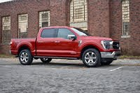 2021 Ford F-150 front three quarter, exterior, gallery_worthy