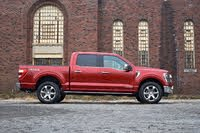 2021 Ford F-150 profile, exterior, gallery_worthy