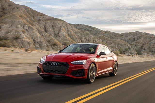 2021 Audi S5 Sportback driving
