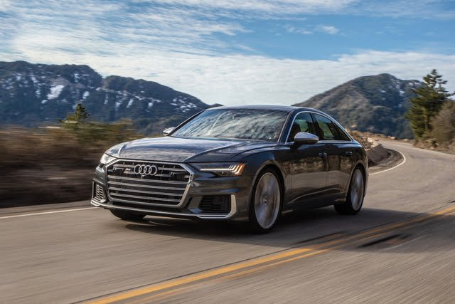 2021 Audi S6 driving
