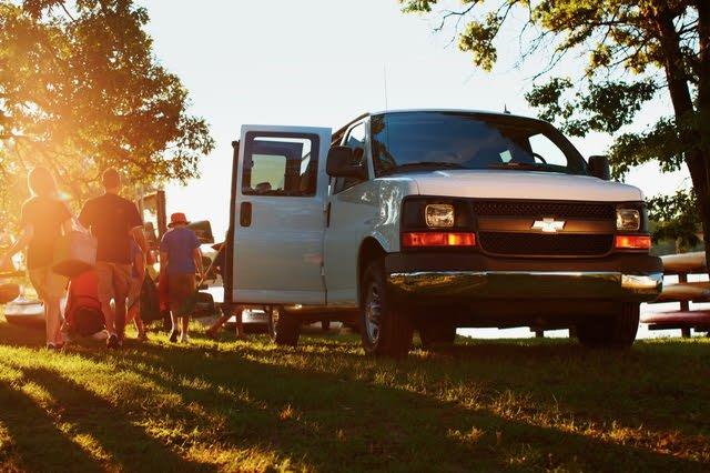 2021 Chevrolet Express passenger van