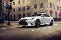 2021 Lexus RC urban driving, exterior, manufacturer, gallery_worthy