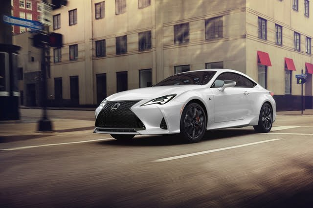 2021 Lexus RC urban driving