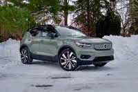 2021 Volvo XC40 Recharge front three quarter, exterior, gallery_worthy