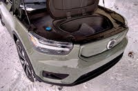 2021 Volvo XC40 Recharge frunk, exterior, interior, gallery_worthy