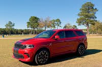 2021 Dodge Durango SRT Hellcat front three quarter, exterior, gallery_worthy