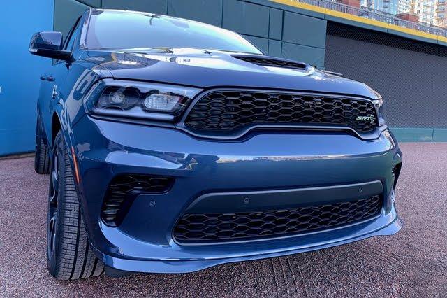 2021 Dodge Durango SRT Hellcat front three quarter, exterior, gallery_worthy