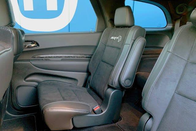 2021 Dodge Durango SRT Hellcat second-row seat, interior, gallery_worthy