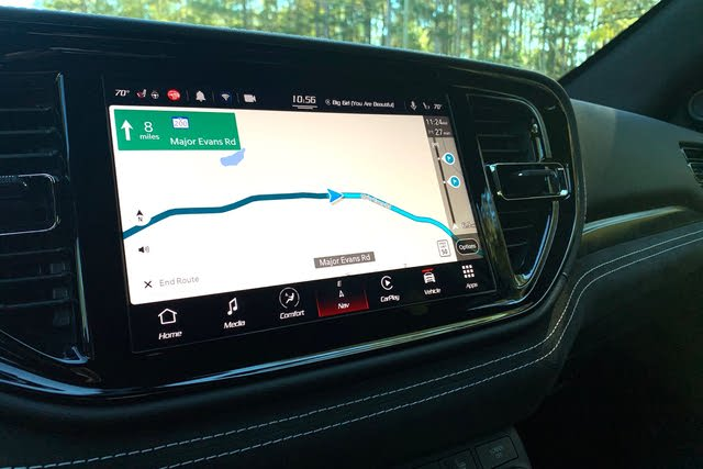 2021 Dodge Durango SRT Hellcat touchscreen, interior, gallery_worthy