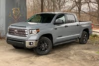 2021 Toyota Tundra front three quarter, exterior, gallery_worthy