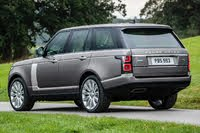 2020 Land Rover Range Rover rear three quarter, exterior, manufacturer, gallery_worthy