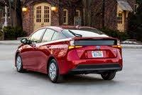 2020 Toyota Prius rear three quarter, exterior, manufacturer, gallery_worthy