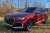 2020 Audi SQ7 front three quarter, exterior, gallery_worthy