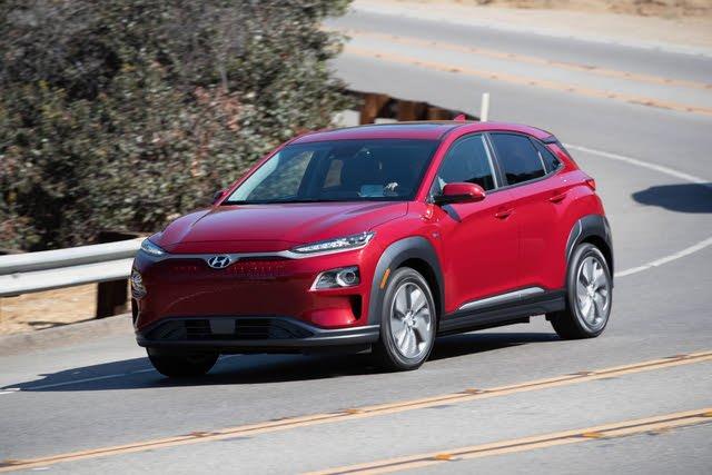 2021 Hyundai Kona Electric driving