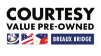 Courtesy Value Pre-Owned Breaux Bridge logo
