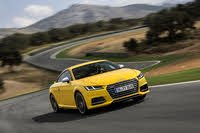 2021 Audi TTS driving, exterior, manufacturer, gallery_worthy