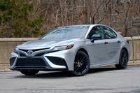 2021 Toyota Camry front three quarter, exterior, gallery_worthy