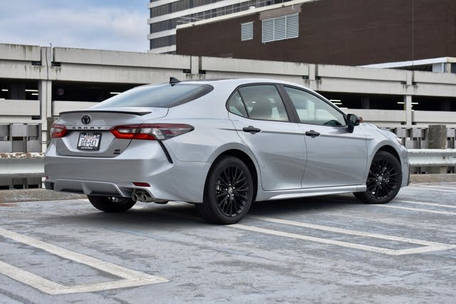 2021 Toyota Camry rear three quarter