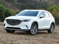 2021 Mazda CX-9 Signature Front Quarter View, exterior, gallery_worthy