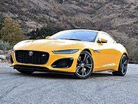 2021 Jaguar F-TYPE, 2021 Jaguar F-Type R Coupe Front Quarter View, exterior, gallery_worthy