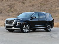 2021 Hyundai Palisade Calligraphy Moonlight Cloud Front Quarter View, exterior, gallery_worthy