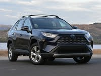2021 Toyota RAV4 Hybrid Limited Front Quarter View, exterior, gallery_worthy