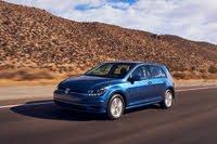 2021 Volkswagen Golf driving, exterior, manufacturer, gallery_worthy