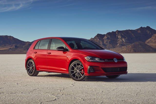2021 Volkswagen GTI front three quarter