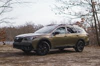 2021 Subaru Outback front three quarter, exterior, gallery_worthy
