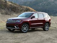 2021 Jeep Grand Cherokee Summit Front Quarter View, exterior, gallery_worthy